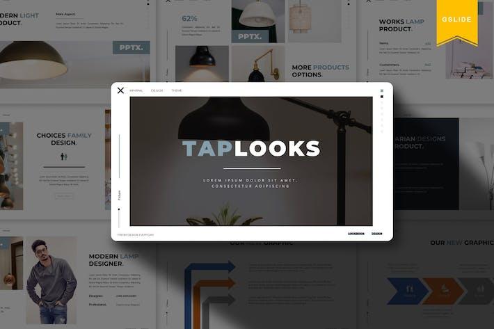 Thumbnail for Taplooks | Google Slides Template