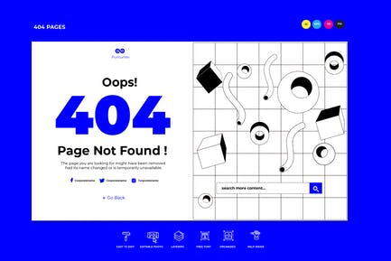 Error Page Template