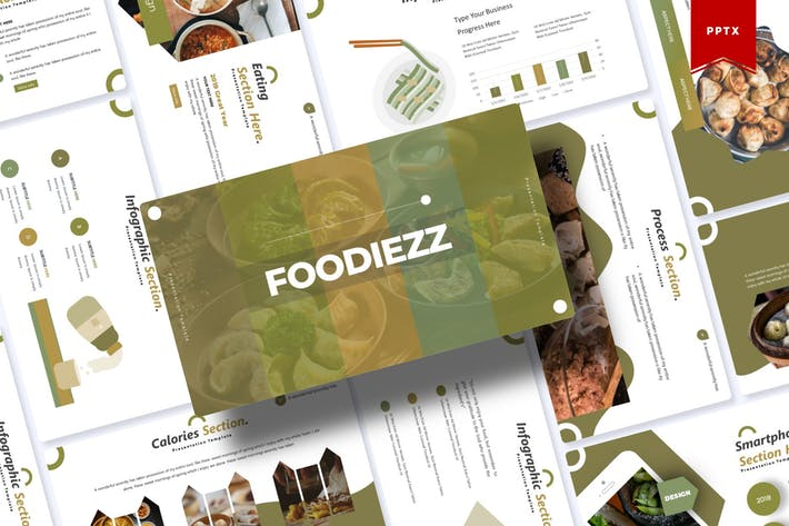 Thumbnail for Foodiezz | Powerpoint Template