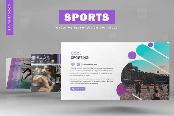 Thumbnail for Sports - Powerpoint Template