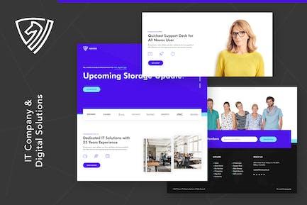 Novos | IT-Unternehmen & digitale Lösungen Wordpress