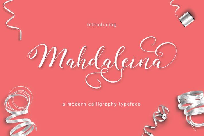 Thumbnail for Mahdaleina Typeface