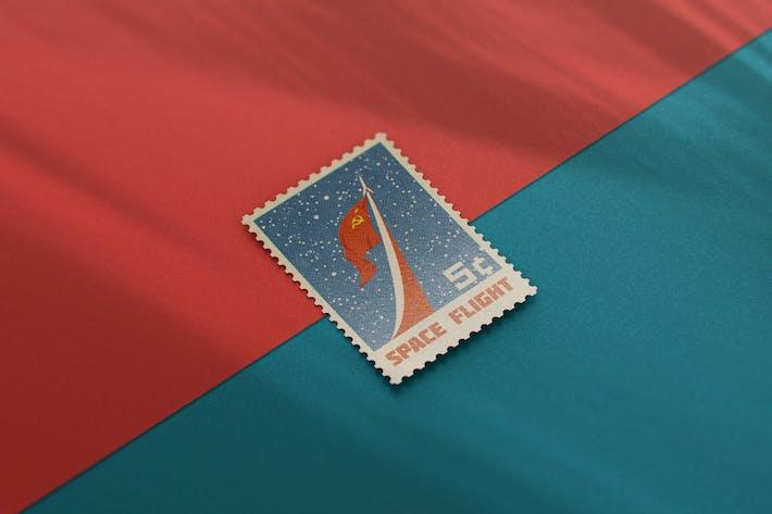 Cover Image For Postage Stamp MockUp v1