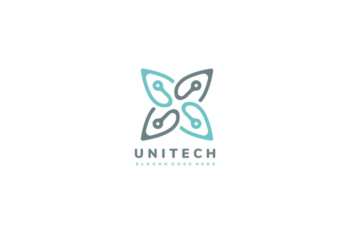 Thumbnail for Логотип «Листья технологии»
