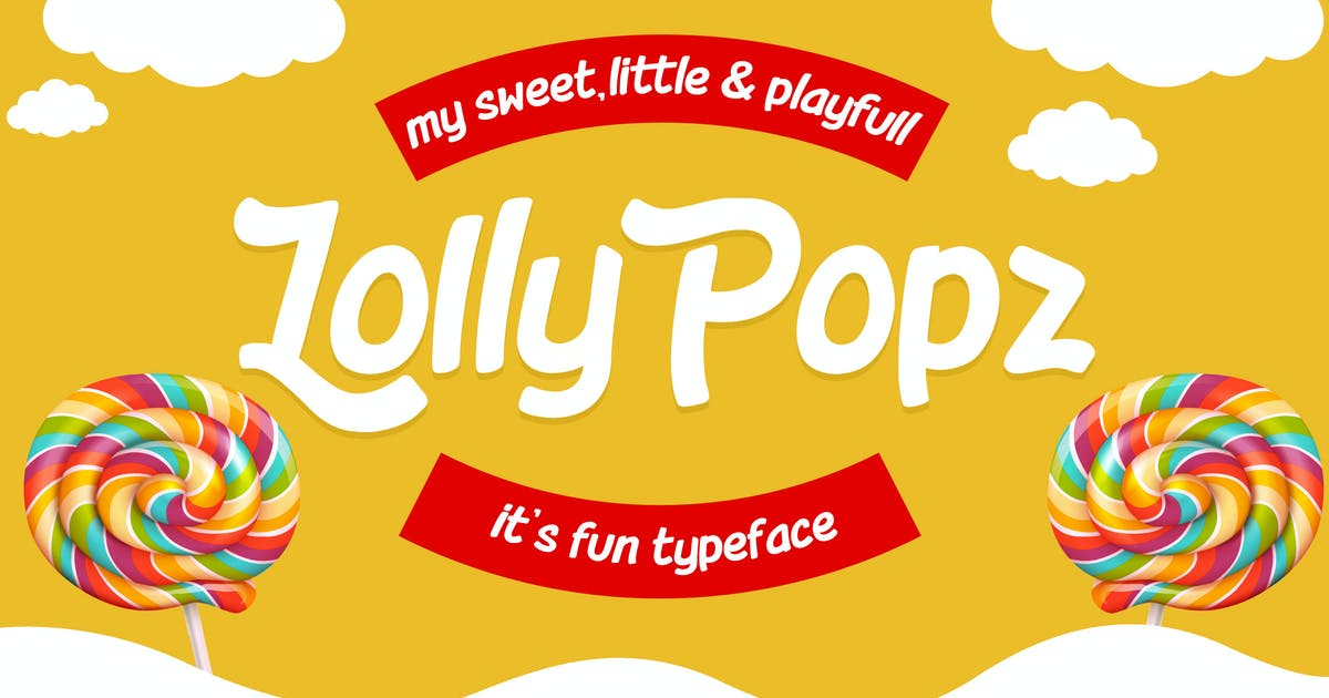 Download Lolly Popz Font by rautanstudio