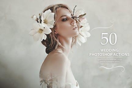 50 Wedding Photoshop Actions