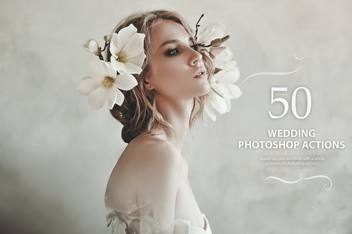 Thumbnail for 50 Wedding Photoshop Actions
