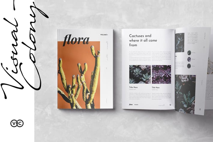 Thumbnail for Flora Magazine