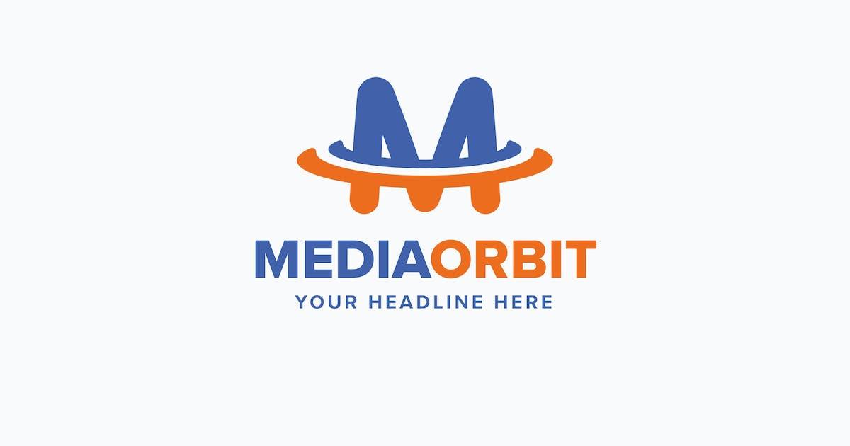 Download Media Orbit M Letter Logo Template by MuseFrame