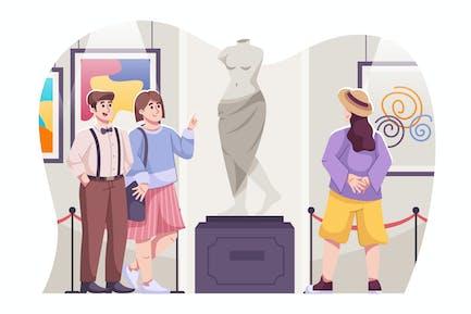 Galería de Arte Ilustración
