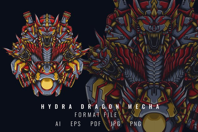Hydra Dragon Mecha