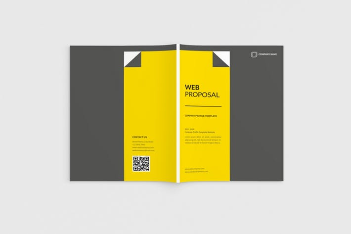 Webvice - A4 Web Proposal Template