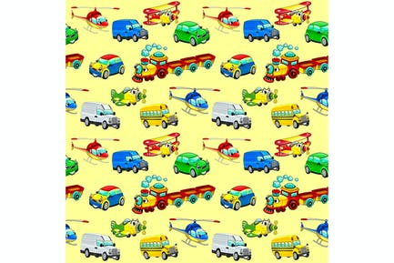 Funny Vehicles Background