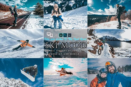 Ski Mood Presets For Mobile and Desktop