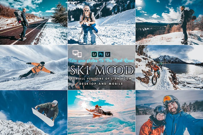 Thumbnail for Ski Mood Préréglages Pour Mobile et Ordinateur