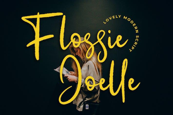 Thumbnail for Flossie Joelle Modern Script Police