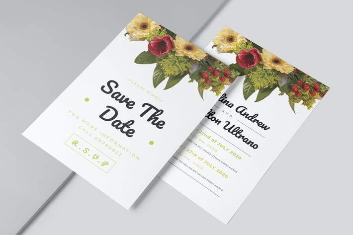 Thumbnail for Simple Wedding Invitation