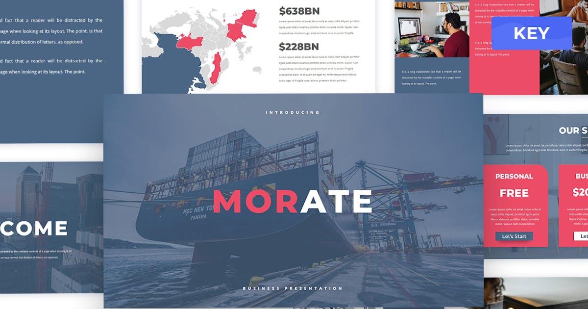 Download Morate - Keynote Presentation Templates by Creavora
