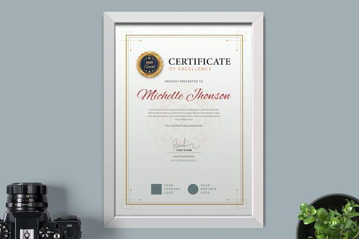 Thumbnail for Zertifikat/DiplomVorlage Pro