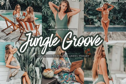 Jungle Groove Lightroom Preset