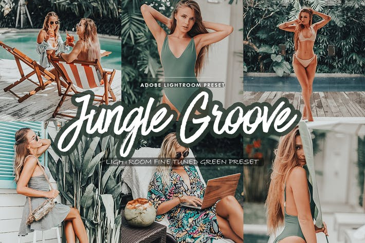 Jungle Groove Lightroom Preset