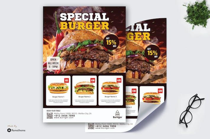 Thumbnail for Burnger - Promotion Poster RB