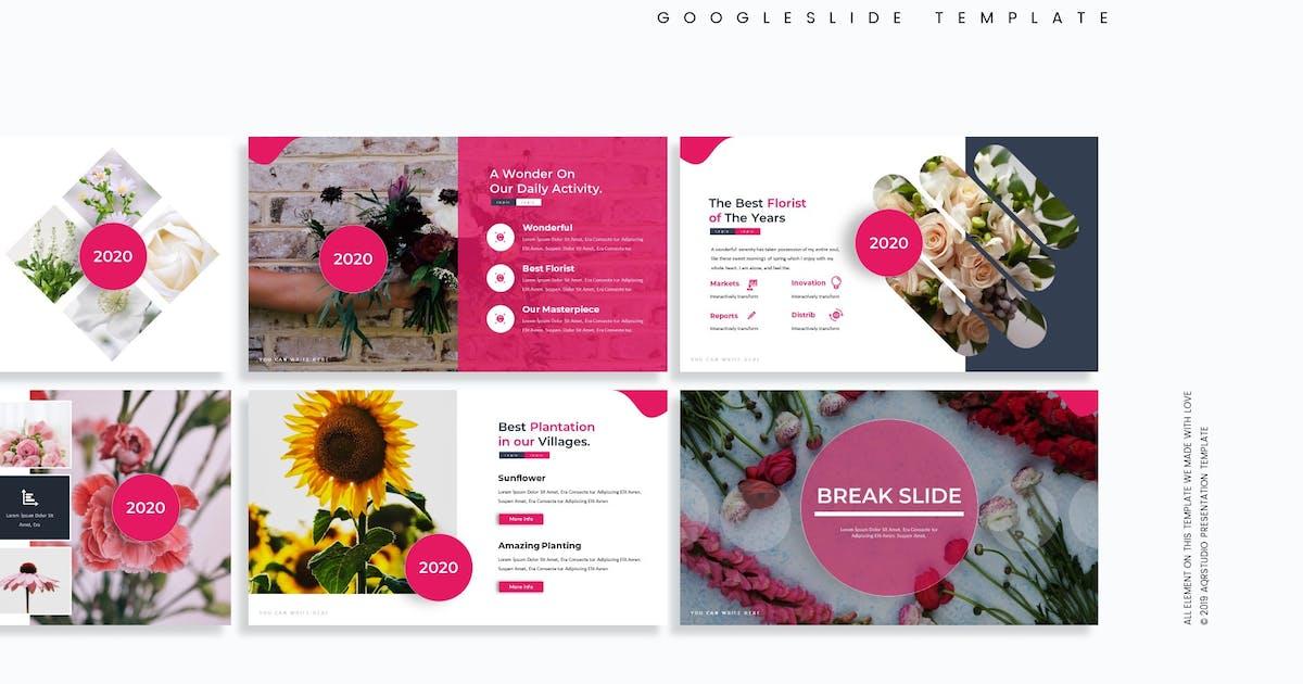 Download Garbera - Google Slide Template by aqrstudio