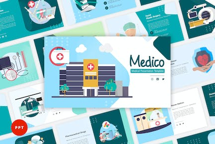 Medico - Medical PowerPoint Template