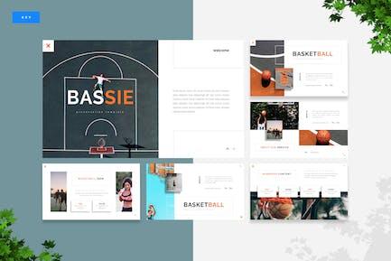 Bassie - Basketball Keynote Template