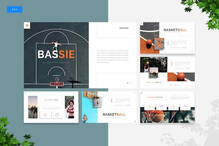 Thumbnail for Bassie - Basketball Keynote Template