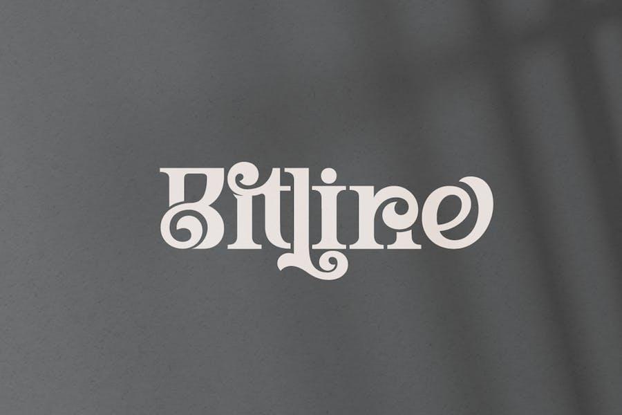 Bitline Font