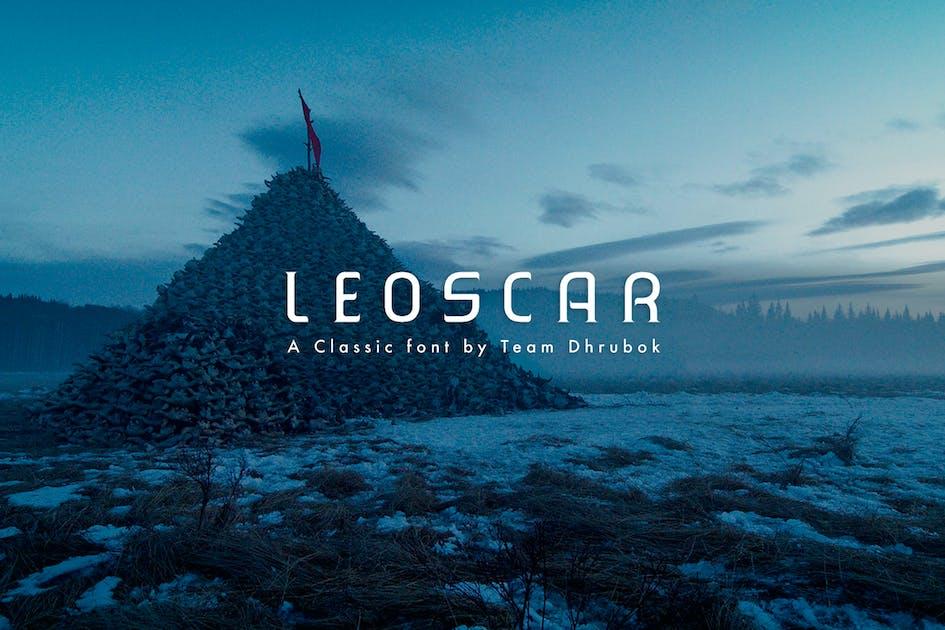 Download Leoscar - Modern Font by tunerpixel