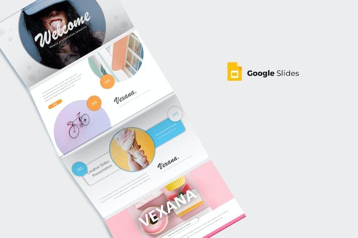 Thumbnail for Vexana - Google Slide Template