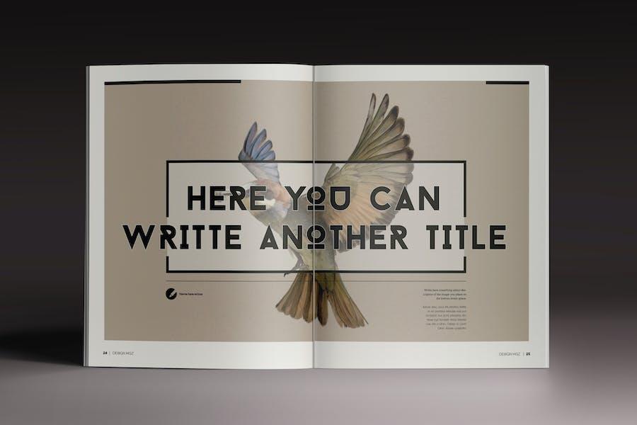 Design Magazine 8 Indesign Template