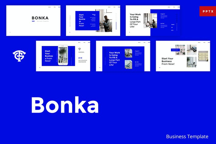Thumbnail for Bonka Business - Powerpoint