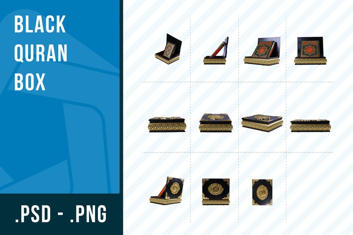 Thumbnail for Black Quran Box Collection