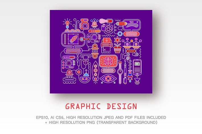 Thumbnail for Graphic Design vector artwork