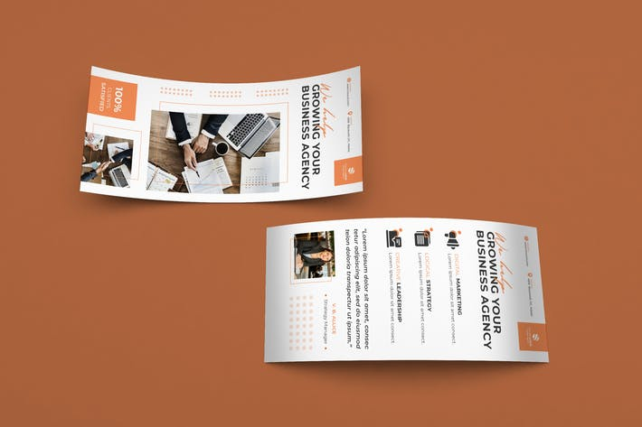 Thumbnail for Corporate, Business DL Rackcard