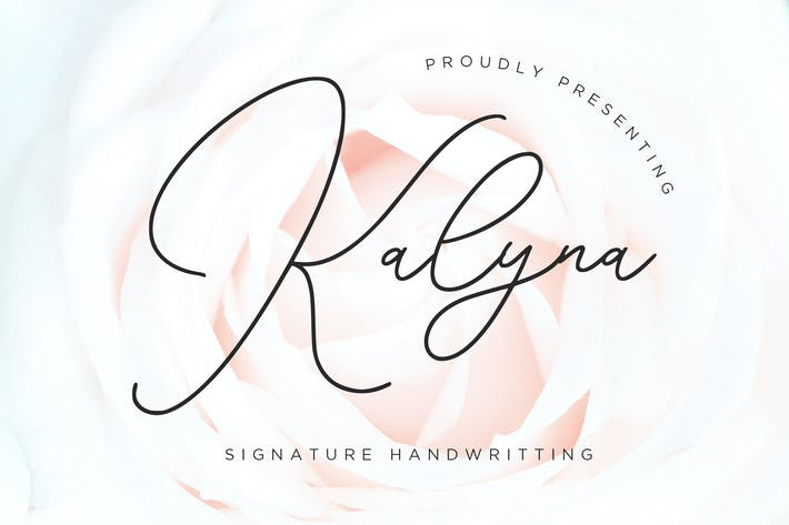 Thumbnail for Kalyna Signature - Escritura a mano