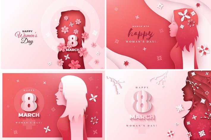 Thumbnail for Women's Day Backgrounds