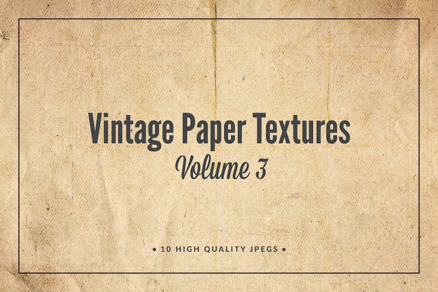 Vintage Paper Textures Volume 3