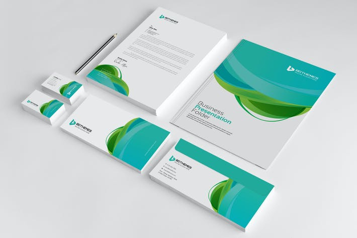 Thumbnail for Business Stationery Template 23