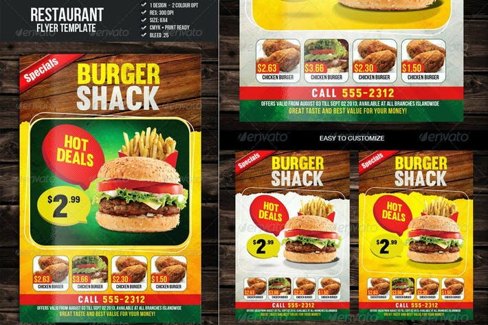 Thumbnail for Food Promo Flyer