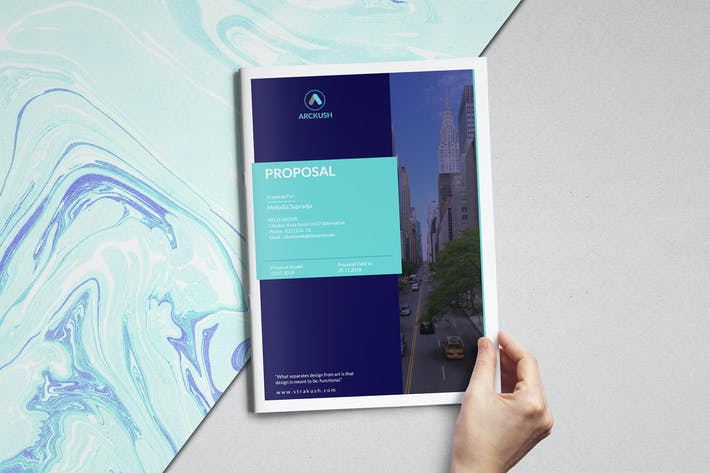 Thumbnail for Web Proposal Template