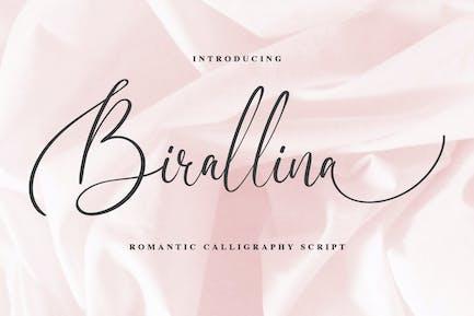 Birallina - Fuente de escritura romántica
