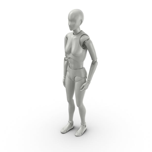 Posed Female Figure