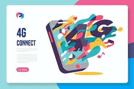 4G-Verbindung ist schneller