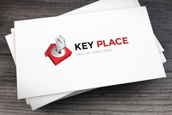 Thumbnail for Key Place Logo Template