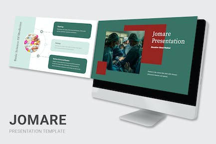 Jomare - Education About Medical Keynote