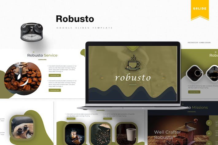 Thumbnail for Robusto| Google Slides Template